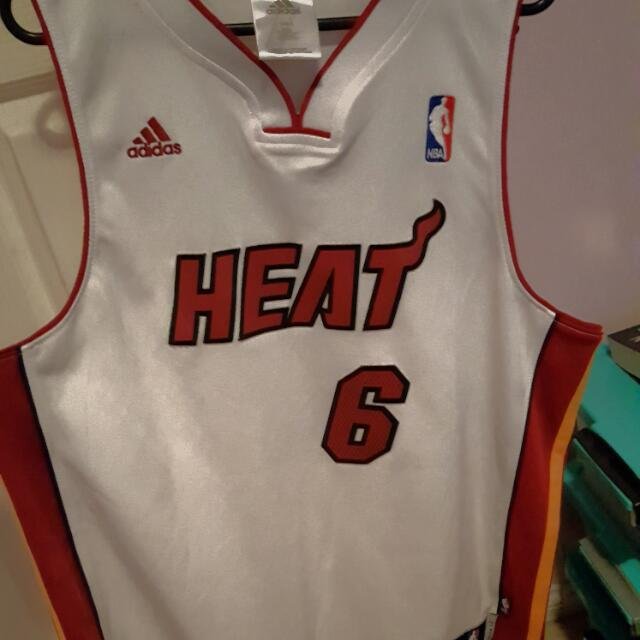 Miami Heat Authentic Jersey -James
