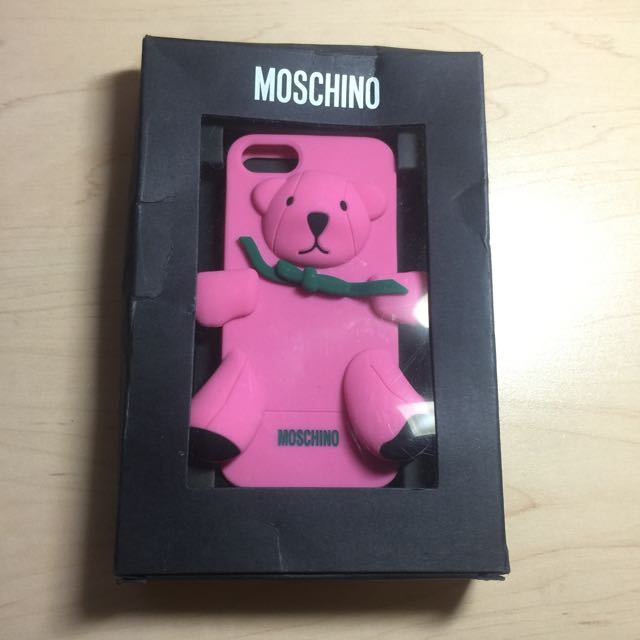 Moschino iPhone5/5s Phone Case. Pink Bear.