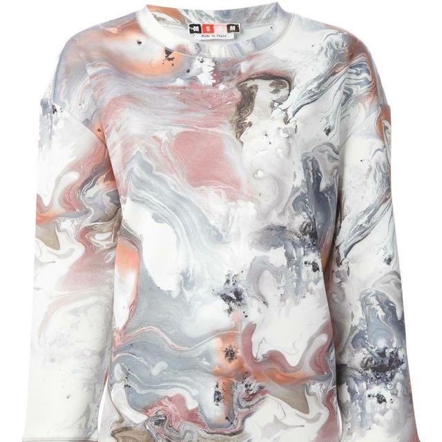 MSGM Marble sweater dress RRP $450