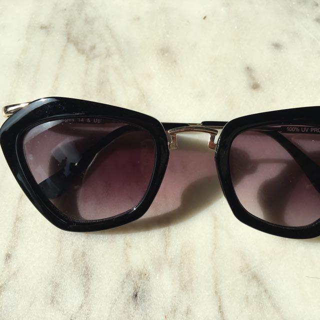 Nasty Gal Sunglasses (Celine look alike)
