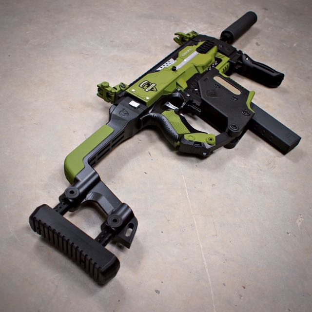 Ecouter et télécharger REAL Gold Nerf Gun! Nerf Kriss Vector Stryfe by  TBR... a Genuine Golden Nerf ...