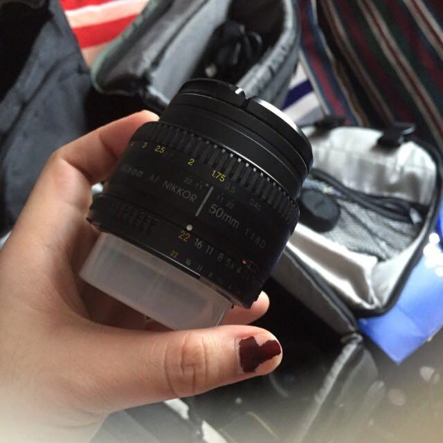 Nikon 50mm Lens ( Manual )