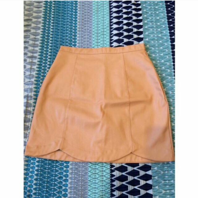 Peach Quirky Circus Skirt