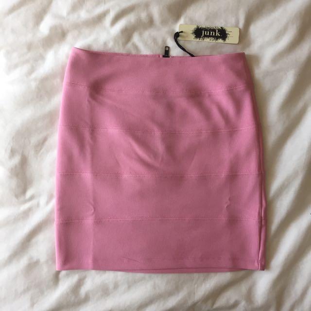 Pink Bandage Skirt Sz8