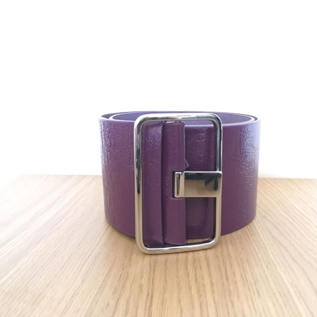 Purple Chunky Belt