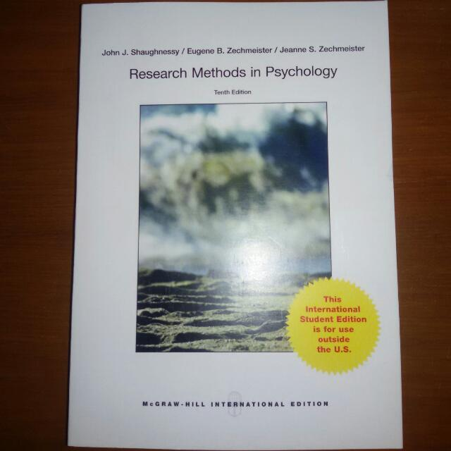 Research Methods In Psychology (10th Ed.)