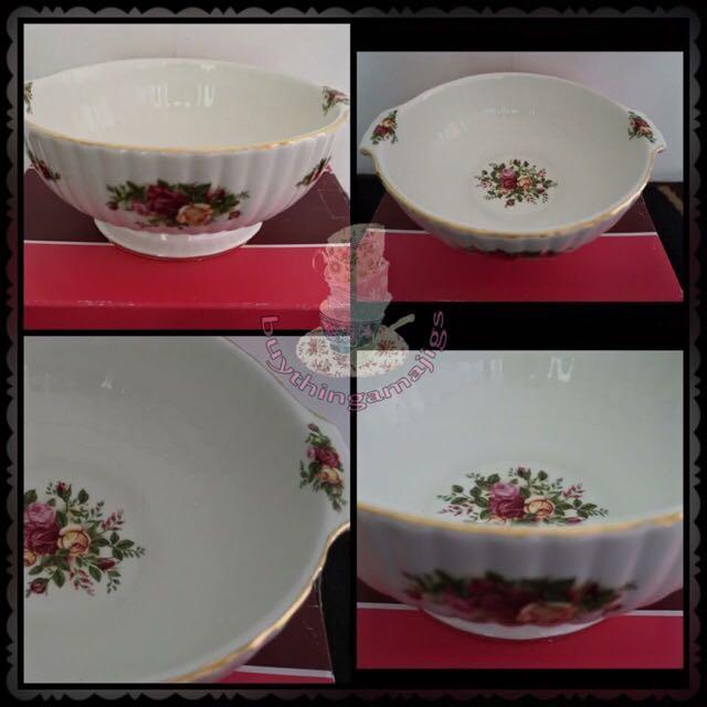"Royal Albert Old Country Roses 9"" Bowl"