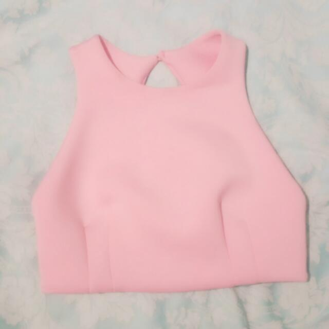 Sheike Pink Top New Without Tag