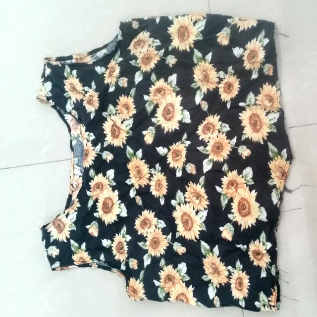 Sunflower Sleeveless Top