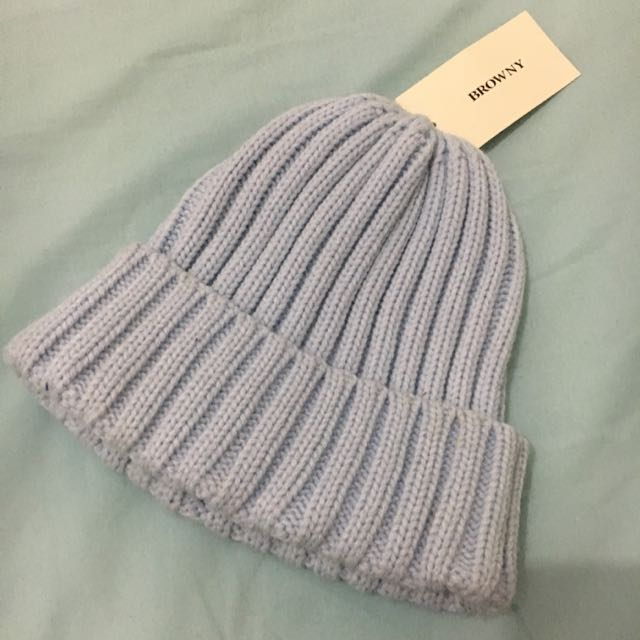 WEGO Japan Light Blue Beanie