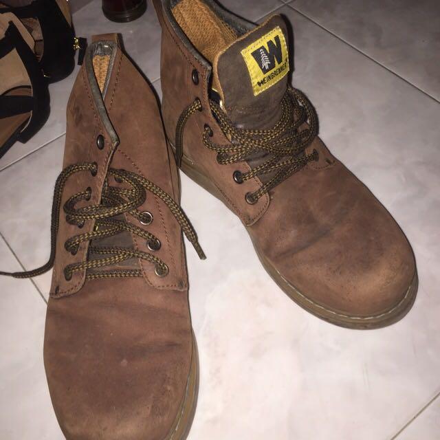 Weinbrenner Boots Size US 10