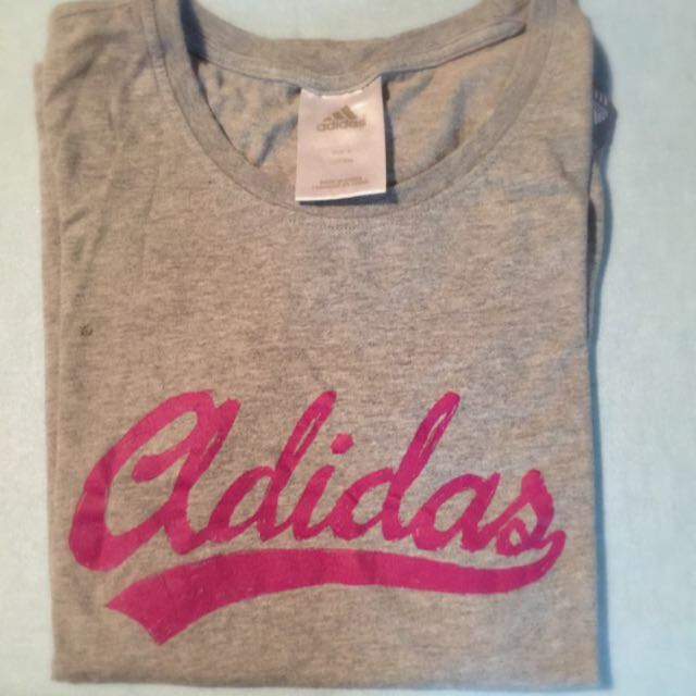 Women's Adidas Workout Tee Size 8