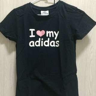 ✨二手 adidas黑色上衣