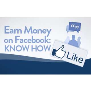 Earn on Facebook : Learn How
