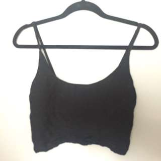 Cage-back Crop Top