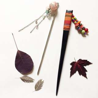 Kanzashi ~ Hair Ornaments From Japan and China ~