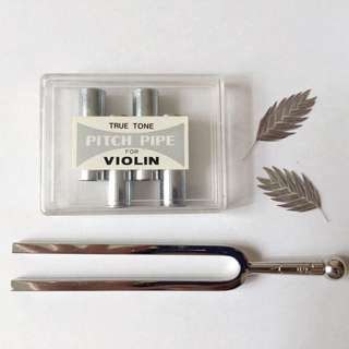 ~ Pitch Fork + Pitch Pipe For Violin ~