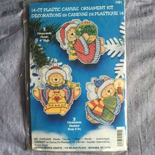 Needlepoint Chris Ornament Kit