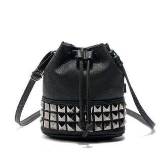 Forever New Drawstring Sling Bag