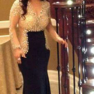 (Price Dropped) BLACK Jovani Formal Party Gown