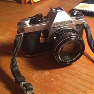 Pentax MEF SLR Film Camera