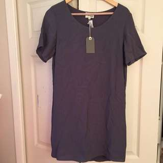 Grey Aritzia. Tshirt Dress