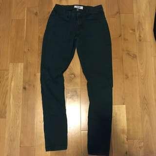 Green Jeggings