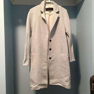 Zara Long Thin Coat