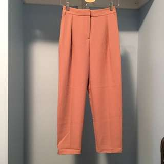 Topshop Dusty Pink Trouser