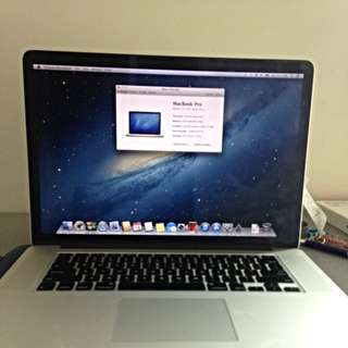MacBook Pro Early 2013