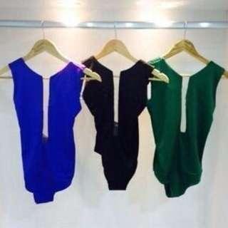Black Bodysuit Size  8 10 12