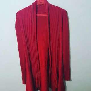 Red Cardigan