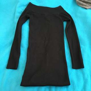 Black Off The Should Dress, M