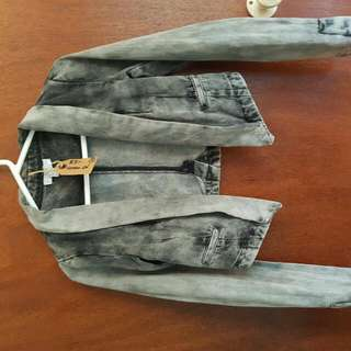 Cotton On Denim size S CROPPED jacket