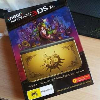 Unused Unopened Majora's Mask 3DS XL