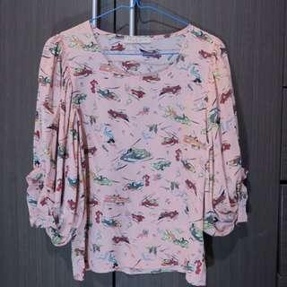 'N.y.l.a' Pink Batwing Shirt