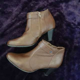 Brown Ankle Boots- Size 40