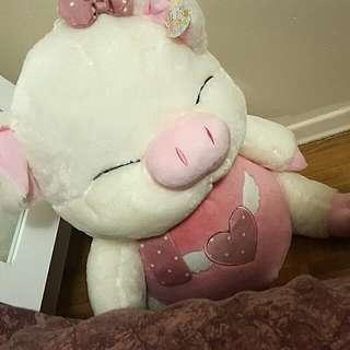 Pink Pig Teddy