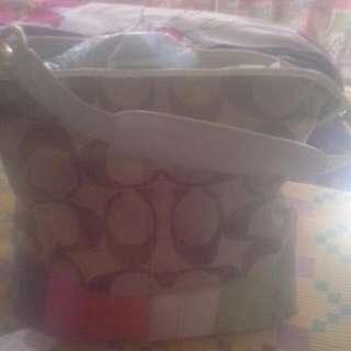 Pre-loved Coach Bucket Bag