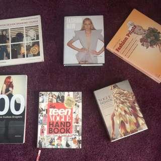 Teen Vogue Handbook, Vogue Fashion, Fashion Now, Fashion Design Drawing Course, 100 New Fashion Designers ( Price per Book)