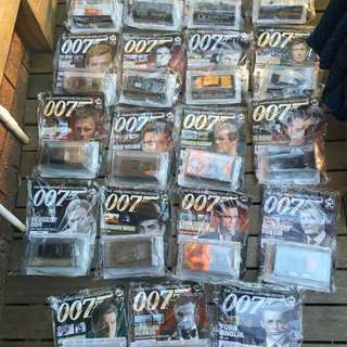 💍 James Bond Car Collection 1-117
