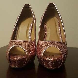 Le Chateau Pink High Heels
