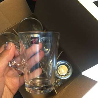 6 Expresso Glasses 4.6oz
