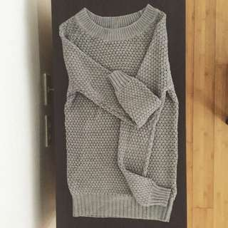 XS Grey Terranova Sweater