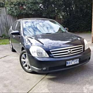 MUST GO!! Ask to Find Out!! CAR SALE For $6,999!! Full 1 Year Rego provided,vehicle transfer charge covered, power sunroof, reverse parking sensor, Leather Seats and wood finish trim!!NISSAN MAXIMA LUXURY