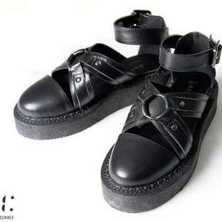 Slightly nunb TEDDY301 厚底涼鞋