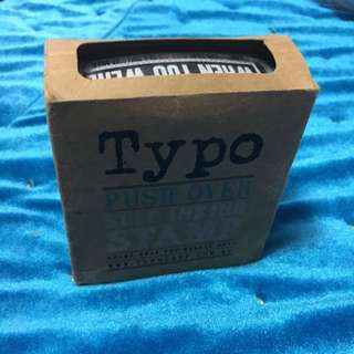 Typo Pushover Stamp