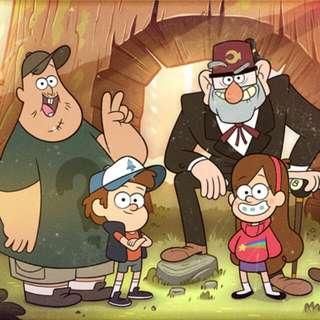 【收購】神秘小鎮 Gravity Falls 任何周邊