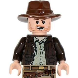 🚚 Lego Indiana Jones Minifigure