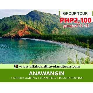 ANAWANGIN 2D1N GROUP TOUR